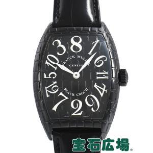 フランク・ミュラー トノウカーベックス クレージーアワーズ ブラッククロコ 8880CH BLK CRO 中古 メンズ 腕時計|houseki-h