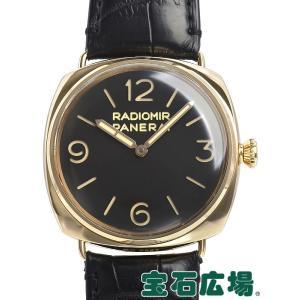 パネライ ラジオミール 3デイズ オロローザ 世界限定501本 PAM00379 中古 メンズ 腕時計 houseki-h