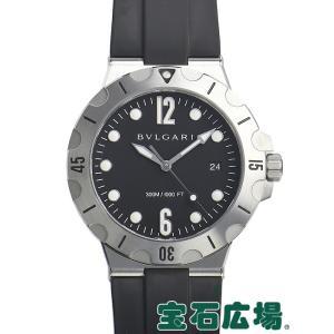 ブルガリ ディアゴノ スクーバ DP41BSVSD 中古 メンズ 腕時計|houseki-h