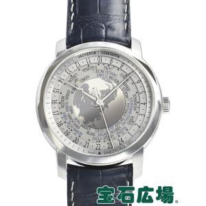 ヴァシュロン・コンスタンタン トラディショナル ワールドタイム タイムコレクション エクセレンスプラチナ 100本 86060/000P-9979 中古 メンズ 腕時計