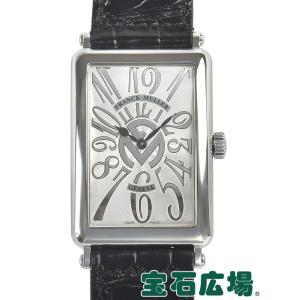 フランクミュラー FRANCK MULLER ロングアイランド RELIEF アロンジェ 1002QZ REL FM 中古 メンズ 腕時計|houseki-h