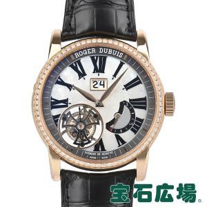 ロジェ・デュブイ ROGER DUBUIS オマージュ フライングトゥールビヨン ラージデイト 世界限定88本 RDDBHO0579 中古  メンズ 腕時計|houseki-h