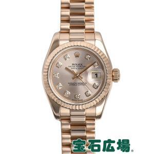 ロレックス ROLEX デイトジャスト 179175FG 中古 レディース 腕時計|houseki-h