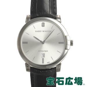 ハリー ウィンストン HARRY WINSTON ミッドナイト MIDAHD42WW001(450/MA42WL.W) 中古 メンズ 腕時計|houseki-h
