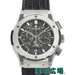 ウブロ HUBLOT クラシックフュージョン アエロクロノグラフ チタニウム 525.NX.0170.LR 中古 メンズ 腕時計|houseki-h
