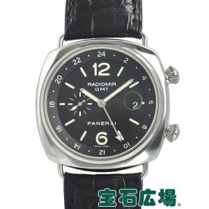 パネライ PANERAI ラジオミール GMT PAM00242 中古 メンズ 腕時計|houseki-h