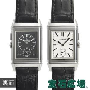 ジャガールクルト JAEGER LECOULTRE グランドレベルソ ウルトラスリム デュオ Q3788570 中古 メンズ 腕時計|houseki-h