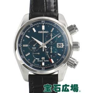 セイコー SEIKO グランドセイコー スプリングドライブ クロノグラフ マスターショップ限定 SBGC007 中古 メンズ 腕時計 houseki-h