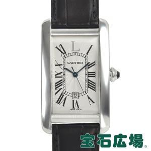 カルティエ CARTIER タンクアメリカン LM イタリア限定 50本 W2605751 中古 メンズ 腕時計|houseki-h