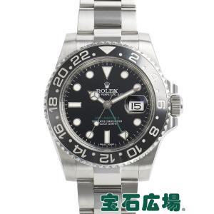 ロレックス ROLEX GMTマスターII 116710LN 中古 メンズ 腕時計|houseki-h