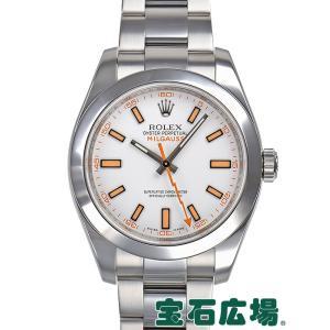 ロレックス ROLEX ミルガウス 116400 中古 メンズ 腕時計|houseki-h