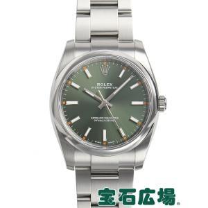 ロレックス ROLEX オイスターパーペチュアル 114200 中古 メンズ 腕時計 houseki-h