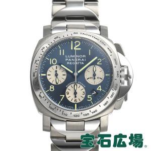 パネライ PANERAI ルミノール クロノ レガッタ2003 世界限定399本 PAM00168 中古 メンズ 腕時計|houseki-h