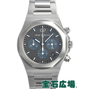 ジラール ペルゴ GIRARD PERREGAUX ロレアート クロノグラフ 81040-11-631-11A 中古 極美品 メンズ 腕時計|houseki-h