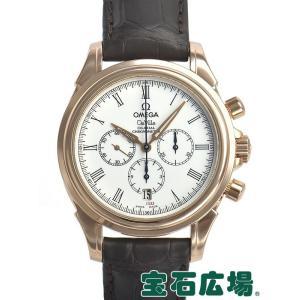 オメガ OMEGA デビル コーアクシャルクロノ 世界限定333本 4643-2032 中古 メンズ 腕時計 houseki-h