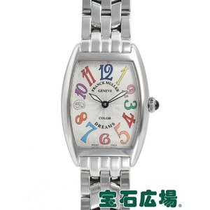 フランクミュラー FRANCK MULLER トノウカーベックス カラードリーム 1752QZCD 中古 レディース 腕時計 houseki-h