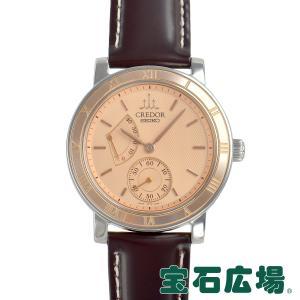 セイコー SEIKO クレドール メカニカル パワーリザーブ  中古 メンズ 腕時計|houseki-h