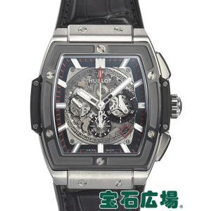 ウブロ HUBLOT スピリット オブ ビッグバン チタニウムセラミック 601.NM.0173.LR 中古 メンズ 腕時計|houseki-h
