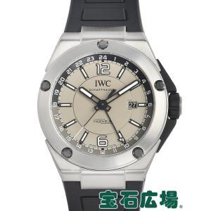 IWC (アイ・ダブリュー・シー) インヂュニア デュアルタイムチタニウム IW326403 中古 メンズ 腕時計 houseki-h