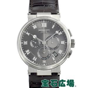 ブレゲ BREGUET マリーン クロノグラフ 5527TI/G2/9WV 中古 極美品 メンズ 腕時計|houseki-h
