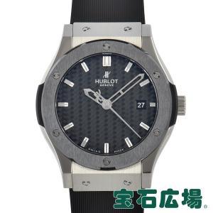 ウブロ HUBLOT クラシックフュージョン ジルコニウム セラミック 42mm 542.ZM.1670.RX 中古 メンズ 腕時計|houseki-h