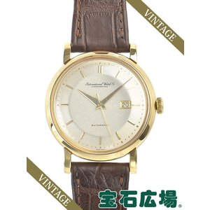 IWC (アイ・ダブリュー・シー) ラウンド3針  中古 メンズ 腕時計 houseki-h
