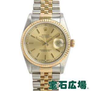 ロレックス ROLEX デイトジャスト 16233 中古 メンズ 腕時計|houseki-h