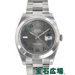 ロレックス ROLEX デイトジャスト41 126300 中古 メンズ 腕時計|houseki-h
