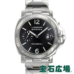 パネライ PANERAI ルミノールマリーナ PAM00050 中古 メンズ 腕時計|houseki-h