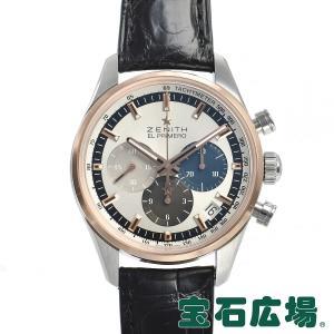 ゼニス ZENITH クロノマスター エルプリメロ 38mm 51.2150.400/69.C713 中古 メンズ 腕時計|houseki-h