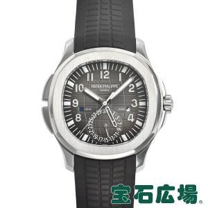 パテックフィリップ PATEK PHILIPPE アクアノート トラベルタイム 5164A-001 中古 メンズ 腕時計|houseki-h