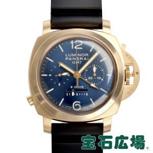 パネライ PANERAI ルミノール1950 8デイズクロノ モノプルサンテGMT 世界限定250本 PAM00277 中古 メンズ 腕時計|houseki-h