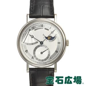 ブレゲ BREGUET クラシックパワーリザーブムーンフェイズ 7137BB/11/9V6 中古 メンズ 腕時計|houseki-h