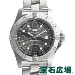 ブライトリング BREITLING スーパーオーシャンスティールフィッシュ A179B72PRS 中古 メンズ 腕時計|houseki-h