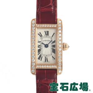 カルティエ CARTIER ミニタンクアメリカン WB710014 中古 レディース 腕時計|houseki-h