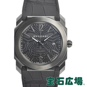 ブルガリ BVLGARI オクト オールブラックス 記念モデル BGO41BSBLD/AB 中古 メンズ 腕時計|houseki-h