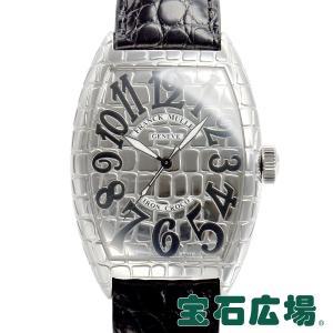 フランクミュラー FRANCK MULLER トノウカーベックス アイアンクロコ 8880SC IRON CRO 中古 メンズ 腕時計|houseki-h