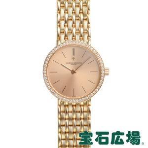 ヴァシュロンコンスタンタン VACHERON CONSTANTIN ラウンド 2針 27593/454J-3 中古 レディース 腕時計|houseki-h