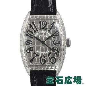 フランクミュラー FRANCK MULLER トノウカーベックス アイアンクロコ 7880SC IRON CRO 中古 メンズ 腕時計|houseki-h