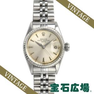ロレックス ROLEX オイスターパーペチュアルデイト 6517 中古 レディース 腕時計|houseki-h