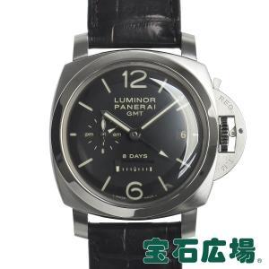 パネライ PANERAI ルミノール 1950 8デイズ GMT PAM00233 中古 メンズ 腕時計|houseki-h