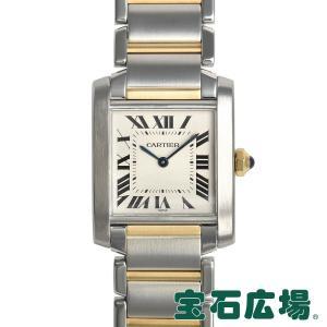 カルティエ CARTIER タンクフランセーズ MM W51006Q4 中古 ユニセックス 腕時計|houseki-h