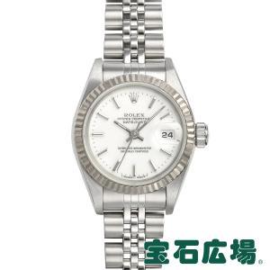 ロレックス ROLEX オイスターパーペチュアルデイトジャスト 69174 中古 レディース 腕時計|houseki-h