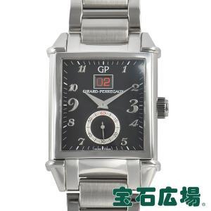 ジラール ペルゴ GIRARD PERREGAUX ヴィンテージ1945ビッグデイト 世界限定250本 25805-11-621-11A 中古 未使用品 メンズ 腕時計|houseki-h