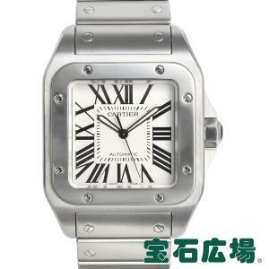 カルティエ CARTIER サントス100 LM W200737G 中古 メンズ 腕時計|houseki-h