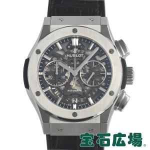 ウブロ HUBLOT クラシックフュージョン アエロ クロノグラフ チタニウム 525.NX.0170.LR 中古 メンズ 腕時計|houseki-h