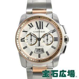カルティエ CARTIER カリブル ドゥ カルティエ クロノグラフ W7100042 中古 メンズ 腕時計|houseki-h