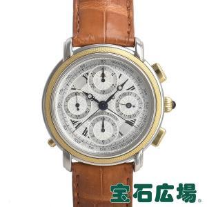 モーリス・ラクロア MAURICE LACROIX マスターピース スプリットセコンド クロノ 世界限定999本 61549-1601 中古 メンズ 腕時計|houseki-h