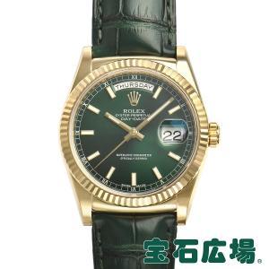 ロレックス ROLEX デイデイト 118138 中古 メンズ 腕時計 houseki-h