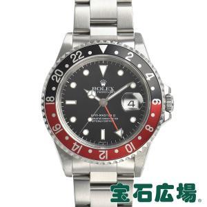 ロレックス ROLEX GMTマスターII 16710 中古 メンズ 腕時計|houseki-h
